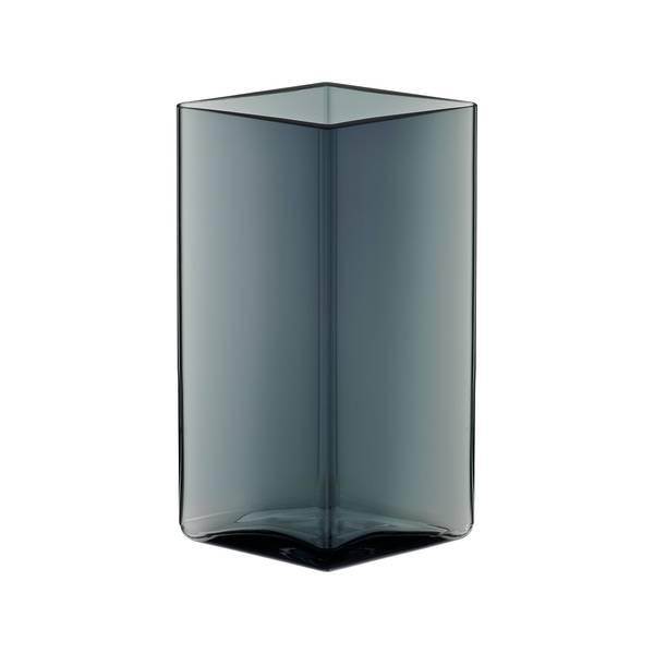 Bilde av Ruutu vase 115x180mm Grå