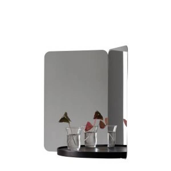 Bilde av 124 sort medium speil Artek