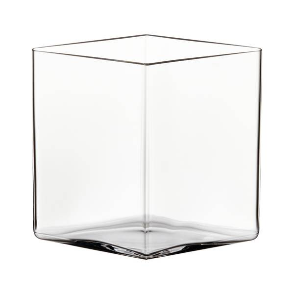 Bilde av Ruutu vase 205x180mm Klar