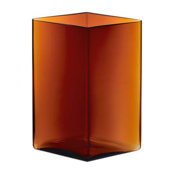 Bilde av Ruutu vase 205x270mm kobber