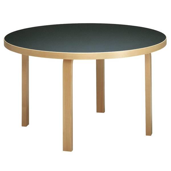 Bilde av  Aalto Table 91 Ø125 cm bjørk