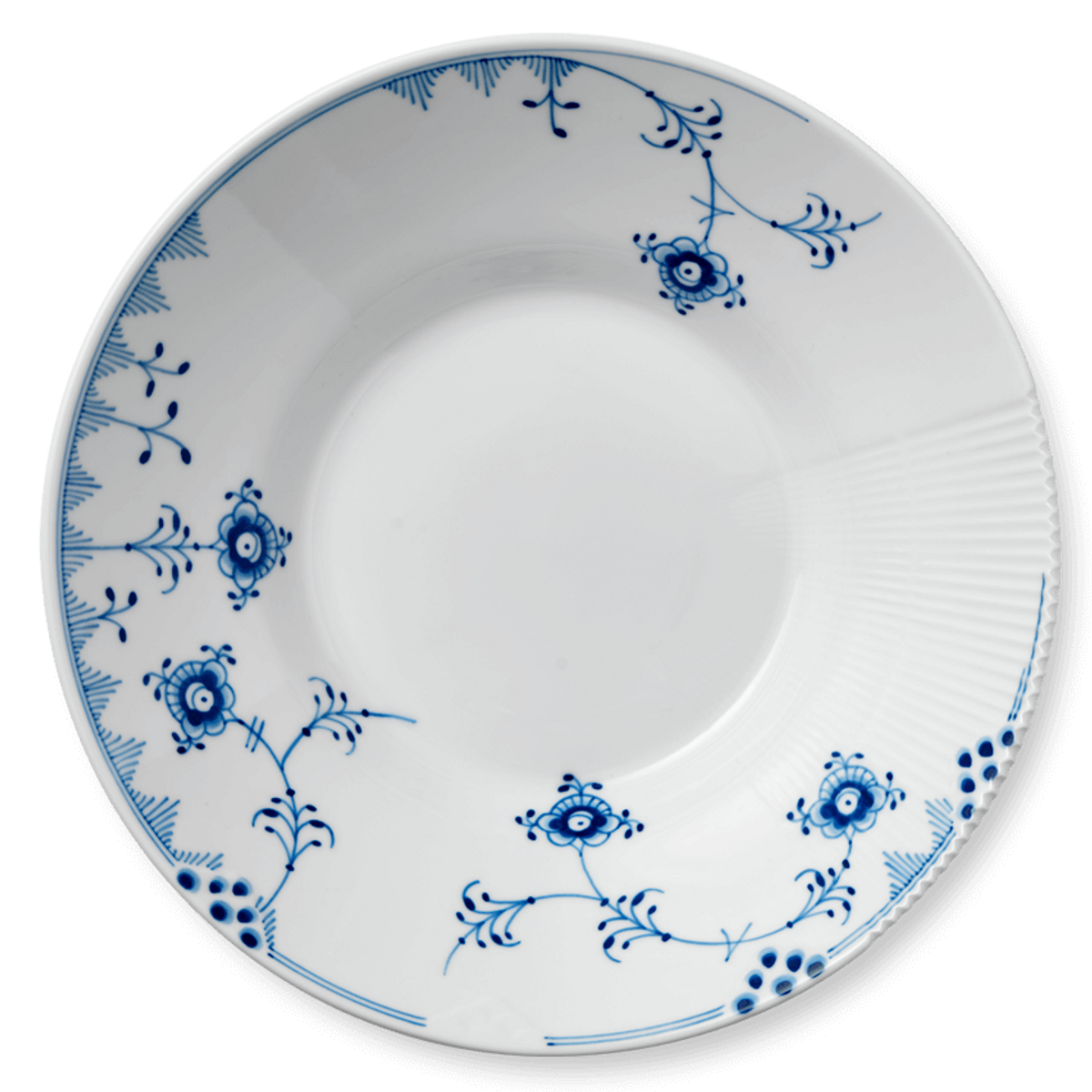 Blå Elements dyp tallerken 25 cm Royal Copenhagen