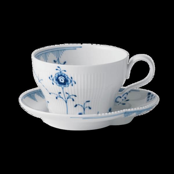 Bilde av Blå Elements kopp og skål 26