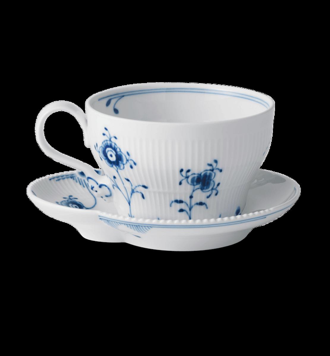 Blå Elements kopp og skål 26 cl Royal Copenhagen