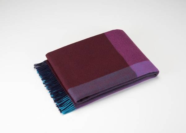 Bilde av Color block Blanket blå/
