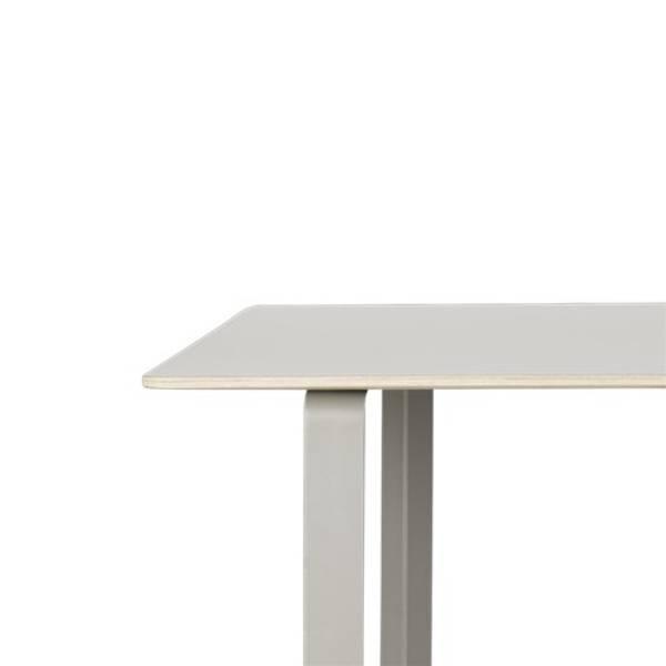 Bilde av 70/70 Spisebord XL grå/grå