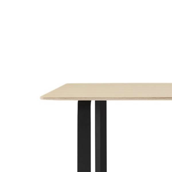 Bilde av 70/70 Spisebord XL eik/sort