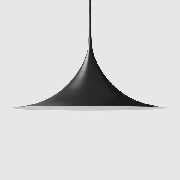 Bilde av Semi Pendant Ø60 Matt-sort