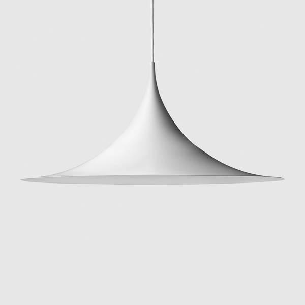 Bilde av Semi Pendant Ø60 Matt-hvit