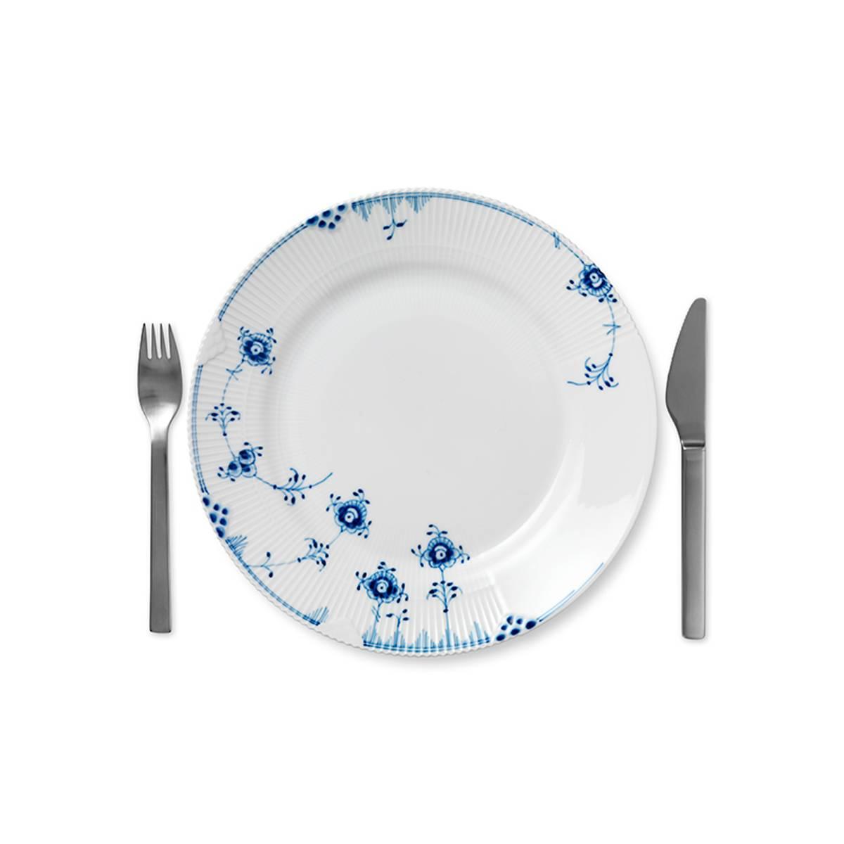 Blå Elements tallerken 28 cm Royal Copenhagen