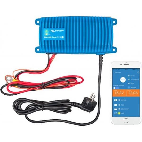 Bilde av Victron Blue Smart 7A 12V IP67 Batterilader med blåtann