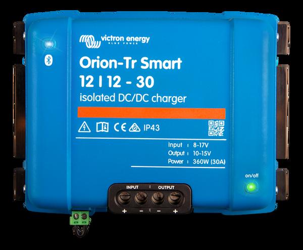 Bilde av Victron 12V til 12V Smart batterilader 18A med blåtann