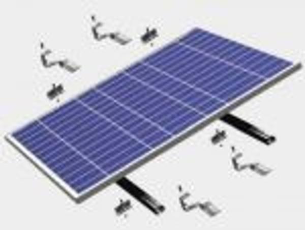 Bilde av Festesystem til Tak for 300-330W Solcellepanel