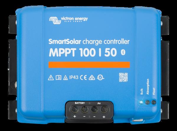 Bilde av 50A Victron SmartSolar MPPT 100/50 blåtann