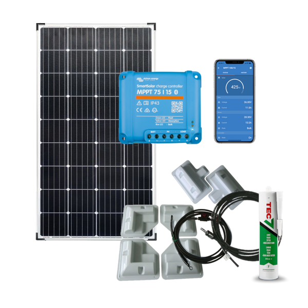Bilde av Solcellepakke Bobil 215W SmartPRO