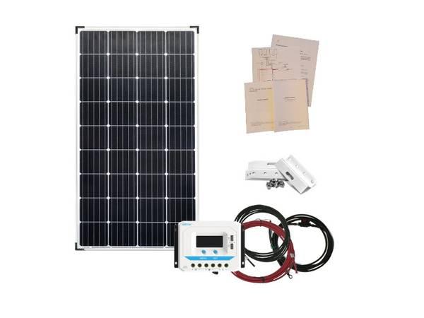Bilde av Solcellepakke 160W til Hytta