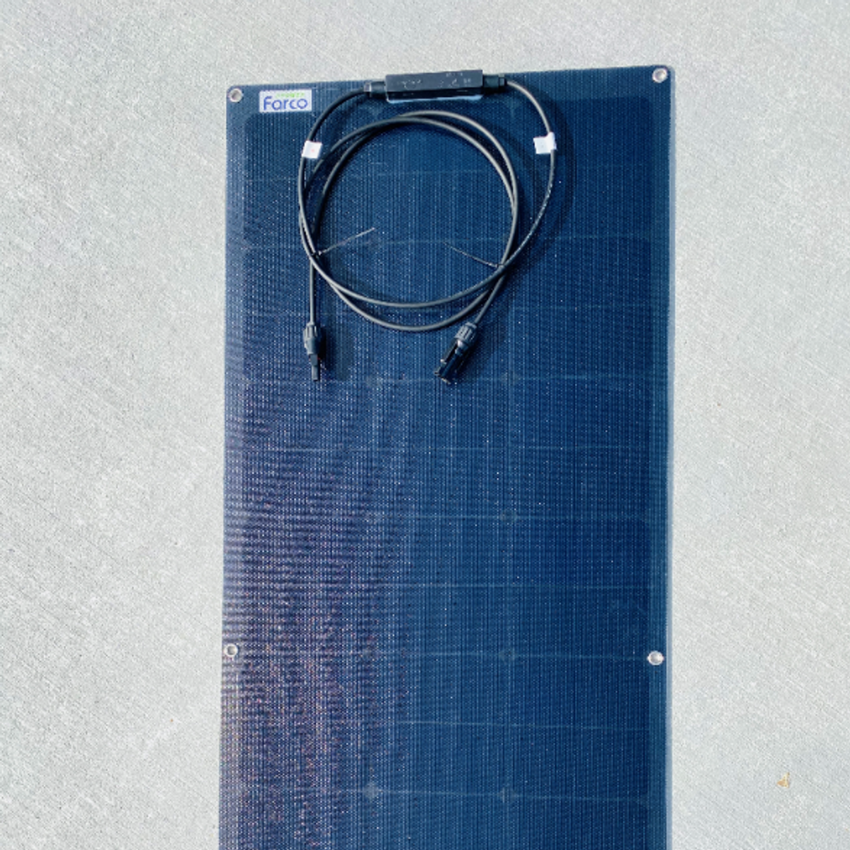 Solcellepanel 70W fleksibelt robust ETFE