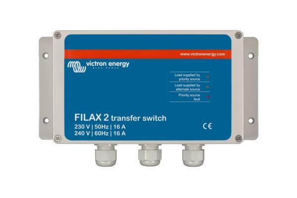 Bilde av Victron Filax 230V Automatisk bryter - 3600VA/16A
