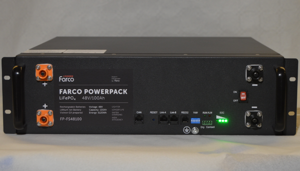 Bilde av Litium 5 kWt 48V PowerPack Farco
