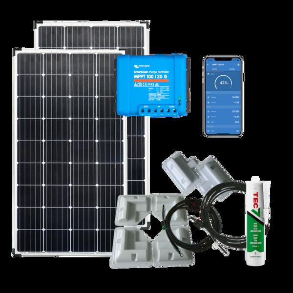 Bilde av Solcellepakke Bobil 430w (2x215w) SmartPRO