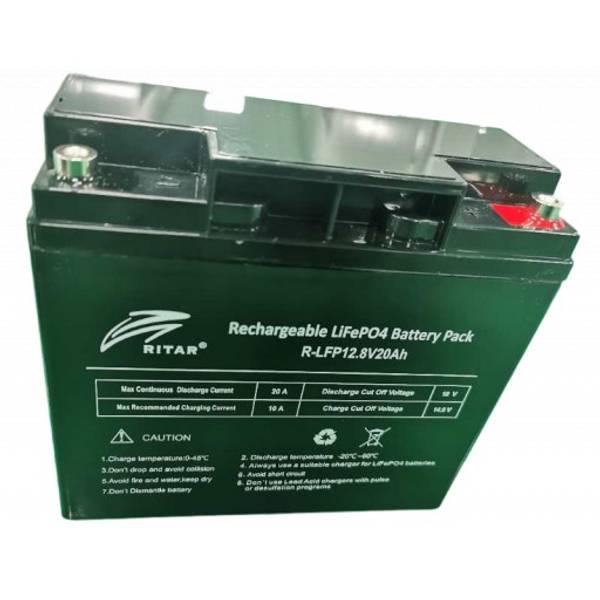 Bilde av Litiumbatteri 20At med 20A BMS
