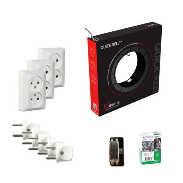 Bilde av Pakkeløsning 12V Hytte - Installasjon Liten