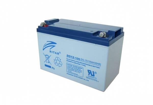 Bilde av Ritar Deep Cycle Gel-Batteri 100Ah