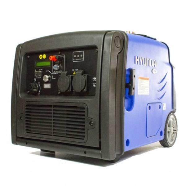 Bilde av Hyundai HY3200SEi Inverter Aggregat 3200 Watt - Elstart