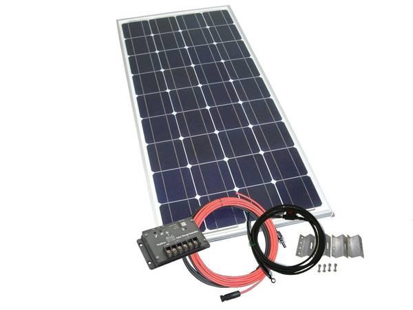 Bilde av Solcellepakke 50 Watt til gapahuk