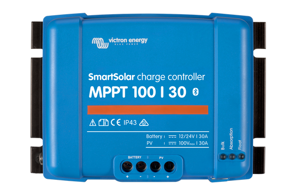 Bilde av 30A Victron SmartSolar MPPT 100/30 blåtann