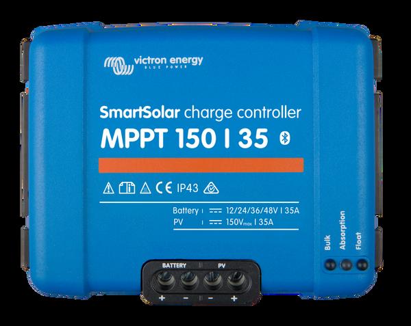 Bilde av 35A Victron SmartSolar MPPT 150/35 blåtann