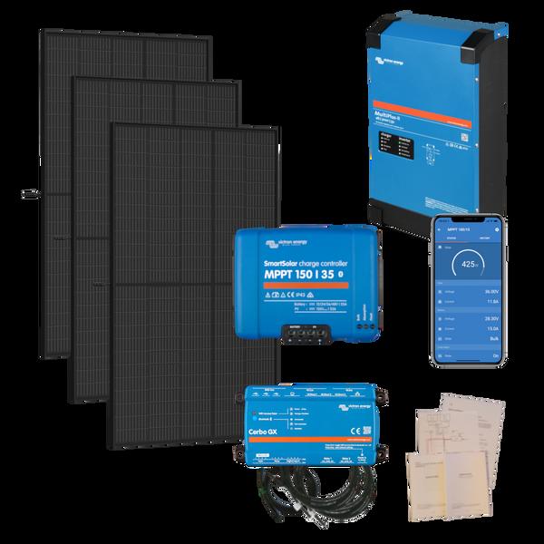 Bilde av Kraftpakke 230V 3kW + 1150W solceller - Byggesett