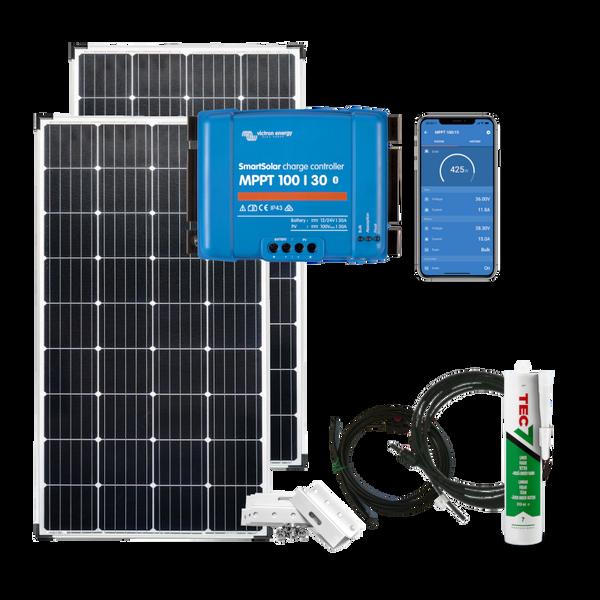 Bilde av Solcellepakke Hytte 350w (2x175w) SmartPRO