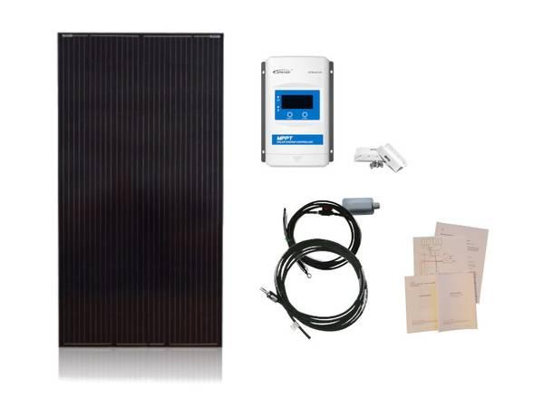 Bilde av Solcellepakke Hytte 185W Premium