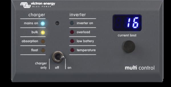Bilde av Digital Multi Control 200/200A GX til Multiplus
