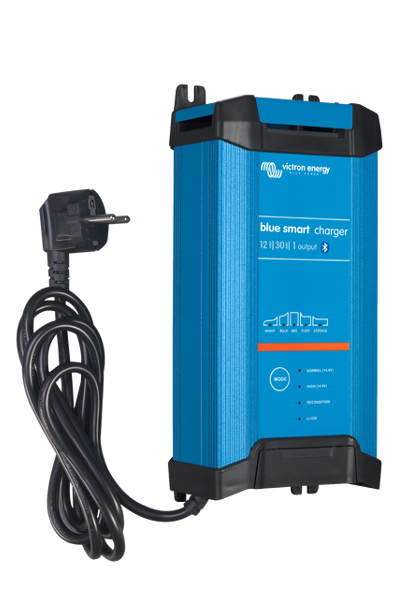 Victron Blue Smart 30A 12V (1) Batterilader med blåtann