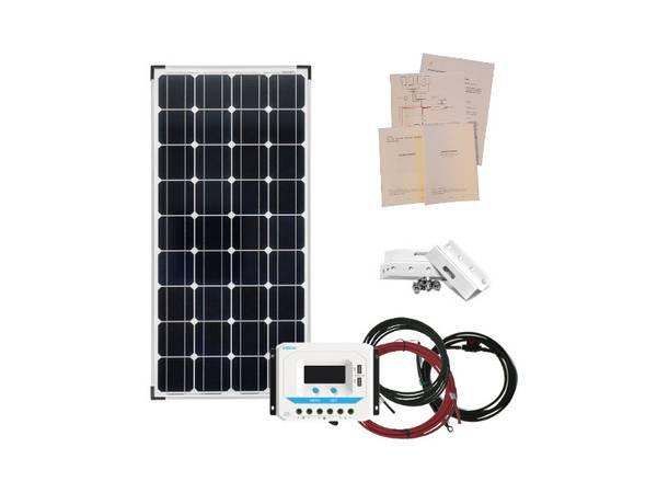 Bilde av Solcellepakke 100W til Hytta