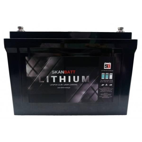 Bilde av Litiumbatteri 125At Heat Pro Blåtann - 150A BMS