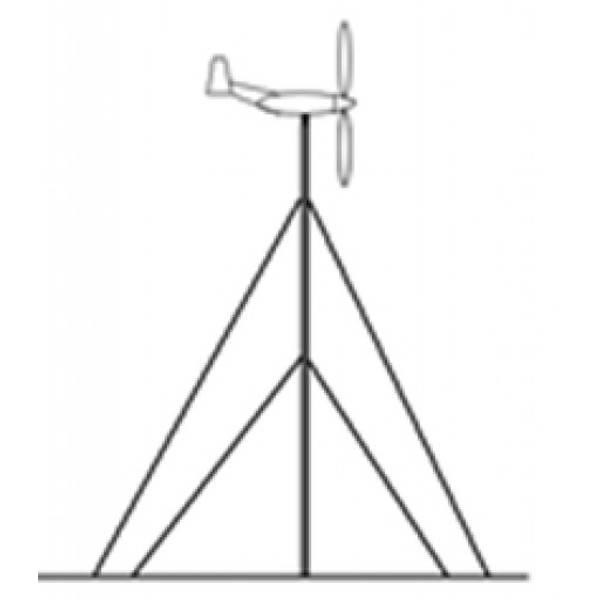 Bilde av Mast 6 meter for vindgenerator 100W - 400W