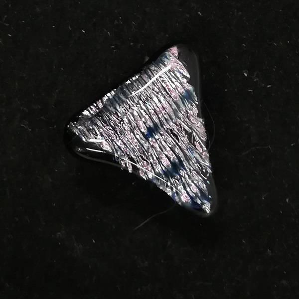 Bilde av Ring 09 lys blå/sølv/rosa