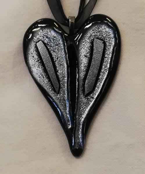 Bilde av Smykke 38, sort/sølv