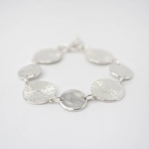 Armbånd med mynter sølv