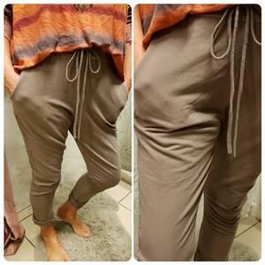 Bilde av Company bukse beige joggings