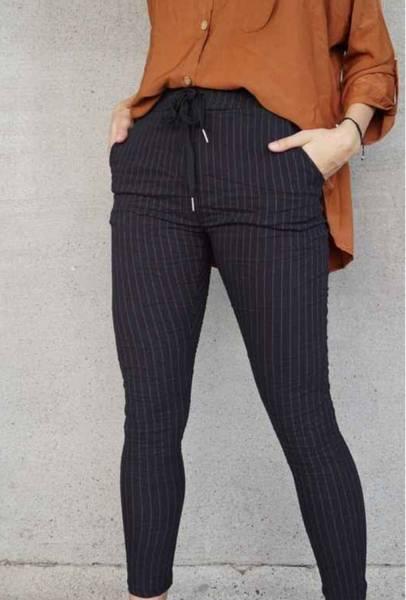 Tindra bukse gylden stripe