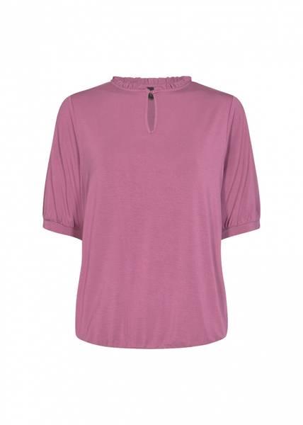 Soya topp knapp rosa