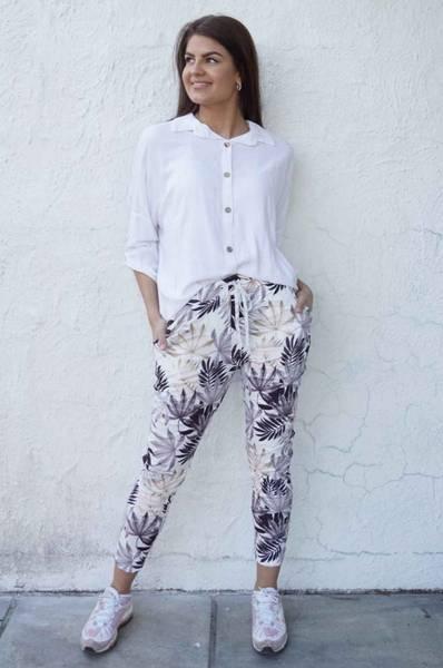 Tindra bukse blad sort