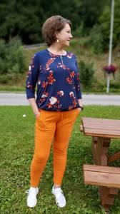 Bilde av Tindra bukse orange