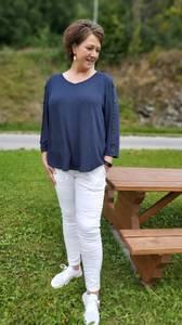 Bilde av Tindra bukse hvit