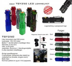 Bilde av LED lommelykter