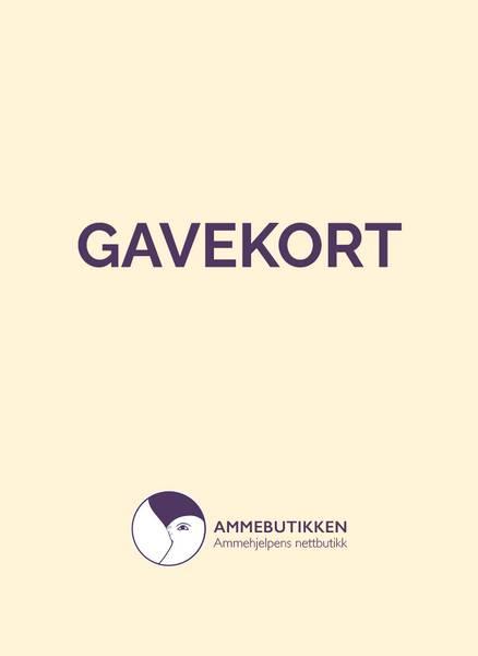 Bilde av Gavekort i Ammebutikken